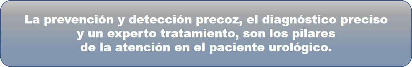 Clínica Urología Valencia, Prevención
